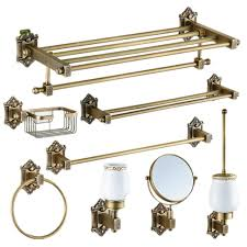 Oil Rubbed Bronze Bathroom Accessory Sets by Compare Prices On Bronze Bathroom Accessories Online Shopping Buy