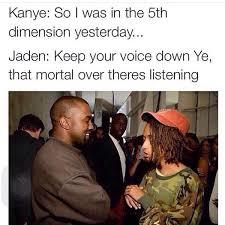Jaden Smith Meme - funny pictures jaden smith kanye west lmao lol image