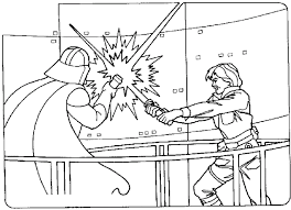 star wars gallery luke skywalker coloring pages children