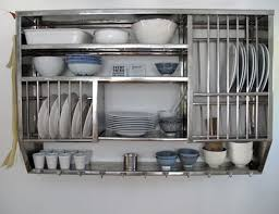 wall mounted stainless steel kitchen shelves of attractive wall
