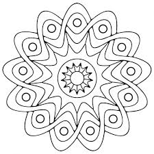 free printable geometric colouring pictures shapes coloring pages