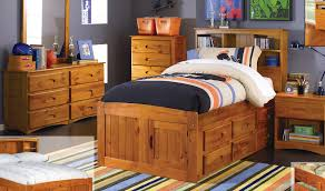 twin bed frame with drawers and headboard discovery world furniture honey twin size captains bed