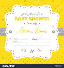yellow baby shower invitations u2013 gangcraft net