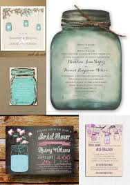 jar wedding invitations rustic outdoor wedding invitations ideas inspiration