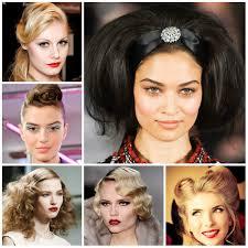 2016 runway retro hairstyles haircuts hairstyles 2017 and hair