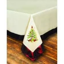 spode tree 13 x 90 tasselled table runners two in
