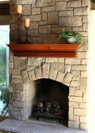 updating stone fireplace brass doors brick with tile update raised