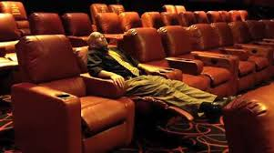 Amc Reclining Seats Webster Theaters Bank On Recliners To Lure Movie Fans