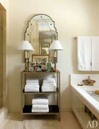 9 space saving ideas for your small bathroom glamour bathroom organization tips nick olsen 04