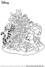 walt disney christmas coloring pages 147 best winnie the pooh coloring images on pinterest drawings