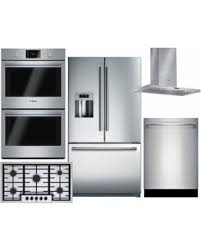 kitchen appliance package sale big deal on bosch 5 piece stainless steel kitchen package with