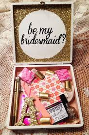 asking bridesmaid gifts trending unique will you be my bridesmaid gift ideas