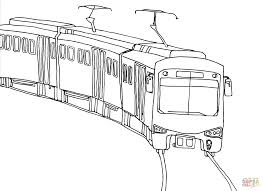 city train coloring page free printable coloring pages
