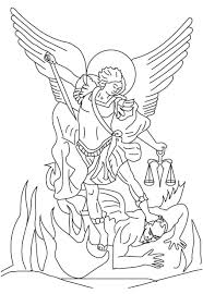 9 images of archangel coloring page st michael the archangel