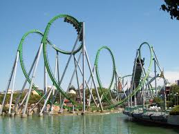the hulk rollercoaster universal studios in florida this was my