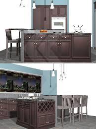 modren kitchen island knee wall countertop supports kneewall in design