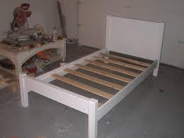 How To Make Bed Frame Building A Bed Frame Furniture U Build
