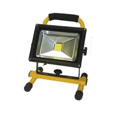 20w led rechargeable li ion battery operated work light aervoe