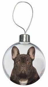 black bulldog bauble decoration co uk