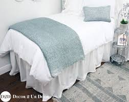 dorm bed skirt etsy
