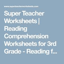 the 25 best 3rd grade reading comprehension worksheets ideas on