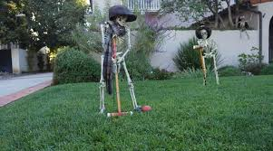 home lawn decoration halloween decorating ideas to scare up a great yard public storage