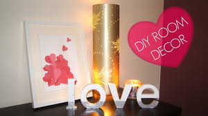 diy bedroom decor wall art side table decor youtube