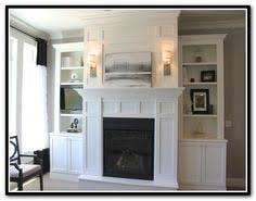 Fireplace Bookshelves by Fireplaces With Bookshelves On Each Side The Shelves Around
