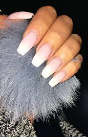 french ombré coffin nails fashion pinterest coffin nails