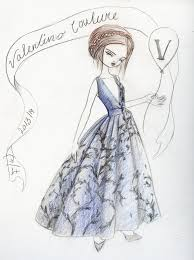 illustration files f w 2013 haute couture sketches by kukula