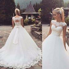 ivory wedding dresses wedding dresses ebay