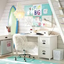 Cute White Desk Ivory Furlicious Wingback Desk Chair Pbteen