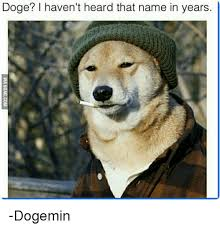 Doge Meme - doge i haven t heard that name in years dogemin doge meme on me me
