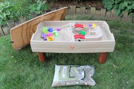 step 2 sand and water table amazing step 2 sand and water table idea c03 home inspiration
