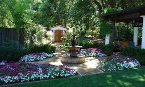 Landscaping Garden Ideas Pictures Mediterranean Backyard Landscaping Ideas Flowers