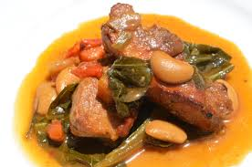 rib and collard green stew