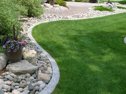 landscape grass barriers the garden s edge decorative landscape