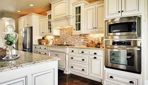 Painted Glazed Kitchen Cabinets Pictures by White Painted Glazed Kitchen Cabinets Ideas On Pinterest Classic