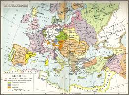 Late Medieval Europe Map by European Colonialism A Different Perspective National Vanguard