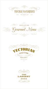 essential vintage vector pack 930 vector ornaments 465