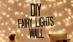 lights on wall with pictures diy fairy light wall sophdoesnails youtube