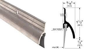 Shower Door Sweeps Pemko P345av36 36 914mm Drip Door Bottom Sweep W Vinyl