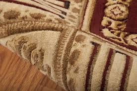 Orange And Brown Area Rugs Nourison Vallencierre Burgundy Area Rug Va17 Bur Rectangle