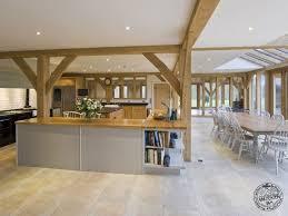 Open Plan Kitchen Design Ideas Modern Kitchen Open Plan Kitchen Images Casestudy Oak Framed