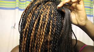 what type of hair do you use for crochet braids senegalese twists my braiding n twisting technique youtube