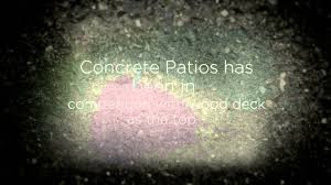 Fractured Earth Concrete Stamp by Concrete Pool Decks Phoenix Youtube