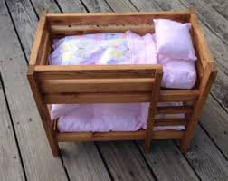 How To Make Wooden Doll Bunk Beds by Doll Bunk Bed Etsy