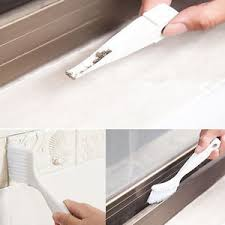 How To Clean Shower Door Tracks 2 In 1 Window Shower Door Track Keyboard Cleaner Brush Corner