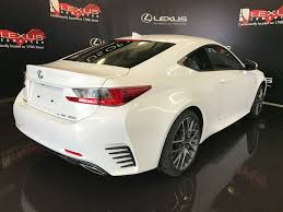 lexus rc awd used 2017 lexus rc 350 2dr cpe awd 2 door car in edmonton ab l12382