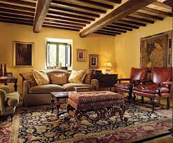 Tuscany Home Decor Home Decor Themes Rugs Gold Walls And Architectural Digest